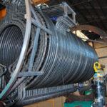 Curvas en tubo redondo para serpentín industrial