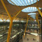 Óvalos en tubo redondo (aeropuerto Madrid)