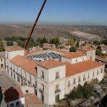 Cúpula Palacio Ducal de Medinaceli en tubo rectangular